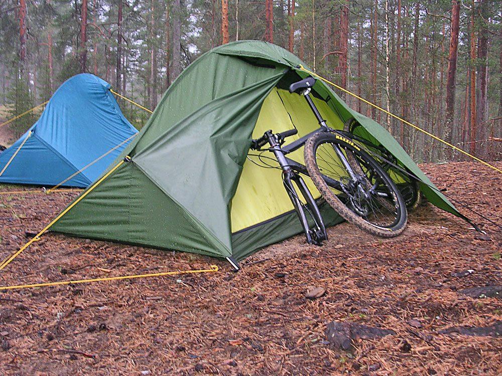 Палатка легкая ПИК-99 ДВАЖДЫ ДВА (2х2)