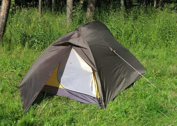 Палатка легкая ПИК-99 ТРИЖДЫ ОДИН (3 х 1)