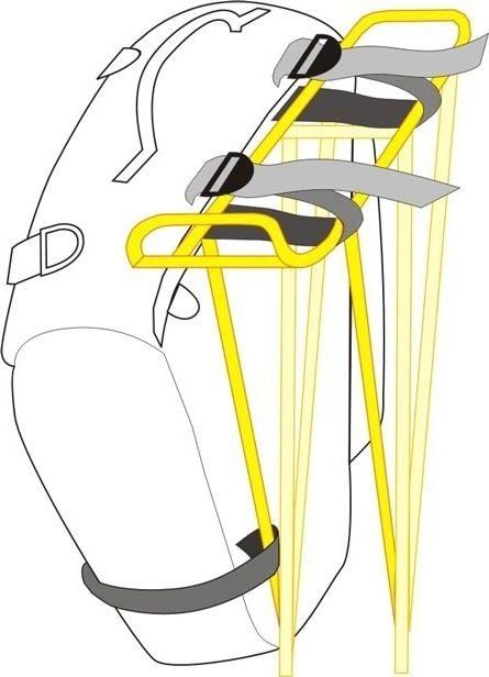 Крепление велорюкзака к багажнику рюкзак hammingbird