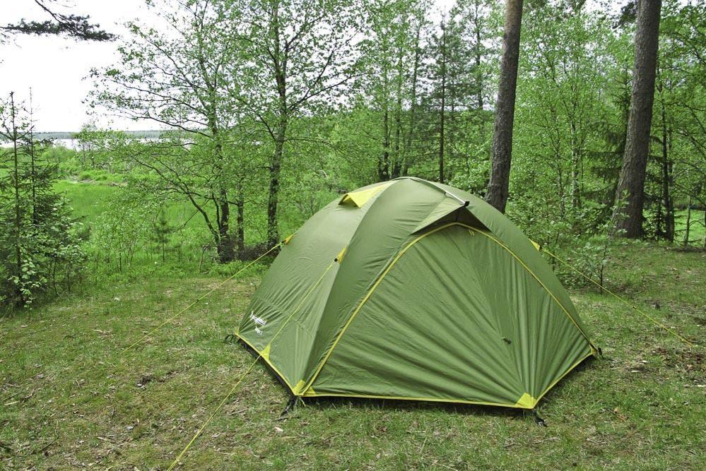 Палатка туристическая МИФ-3А-плюс <ПИК-99+Rockland >