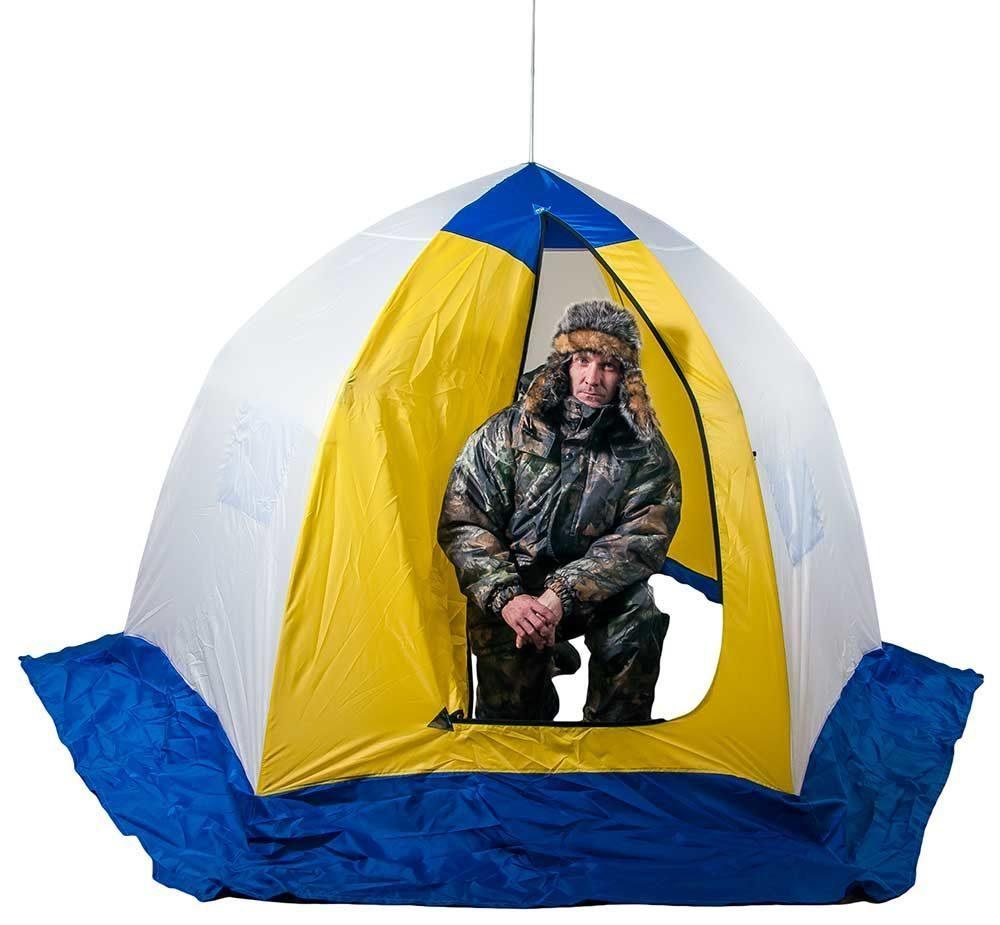 способ укладки зимней палатки