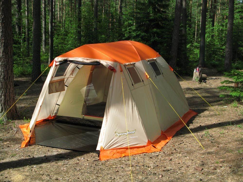 Палатка кемпинговая RockLand CAMPER-4