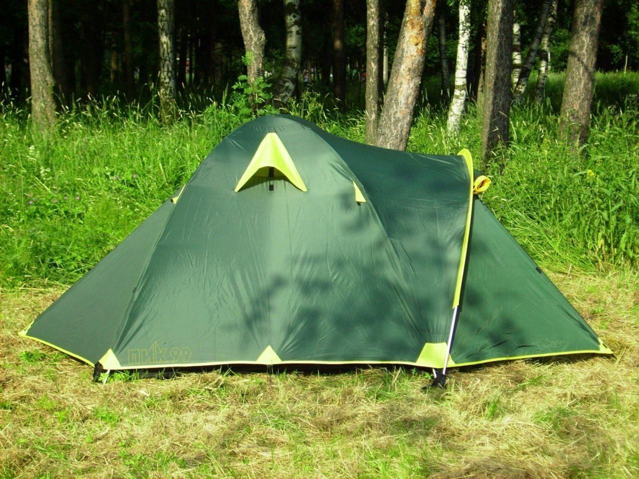 Палатка туристическая ЕЖ-4Д <ПИК-99+Rockland >