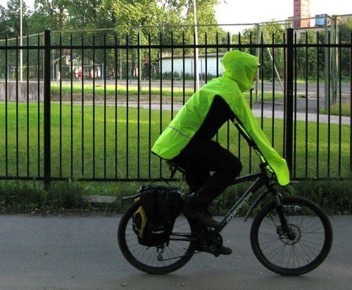 Накидки для велосипеда своими руками