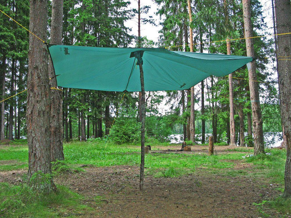 Тент туристический RockLand 9 м2 (тент-грибок) Тенты Палатки и ...
