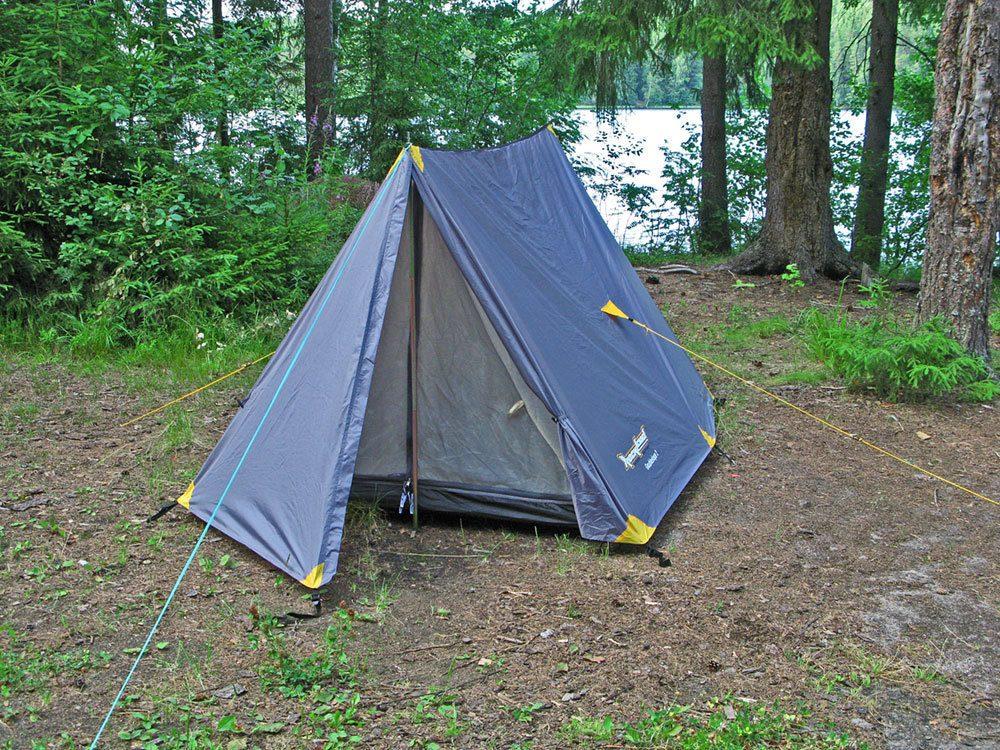 Палатка туристическая двухскатная RockLand Doubleslope-3