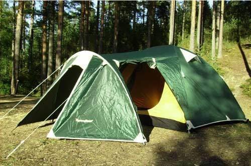 Палатка туристическая КВАРТА-4Д <ПИК-99+Rockland >