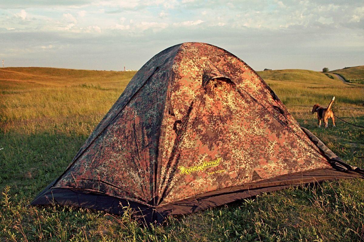 Палатка туристическая RockLand PEAK-2 camo