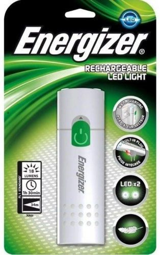 Фонарь ручной Energizer ACCU RECHARGEABLE LED LIGHT