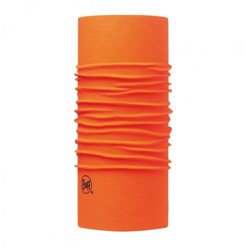 Бандана BUFF ORIGINAL SOLID ORANGE FLUOR
