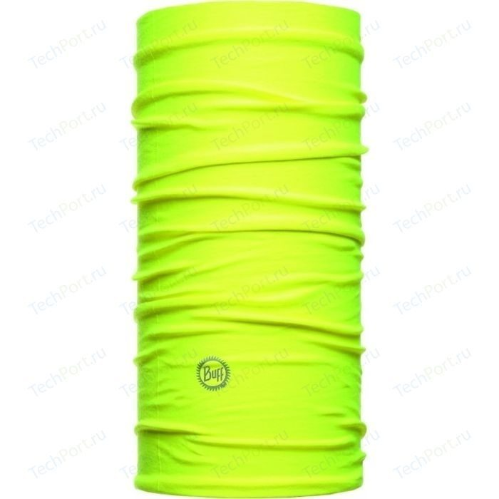 Бандана BUFF HIGH UV PROTECTIVE SOLID YELLOW FLUOR
