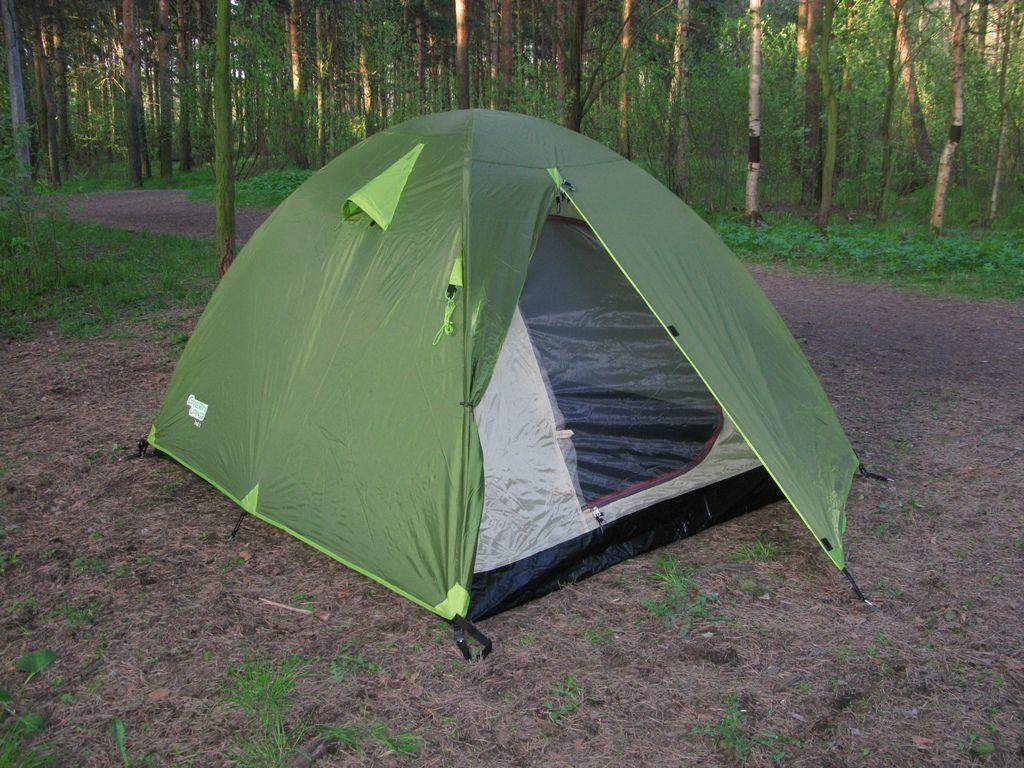 Палатка туристическая GreenLand Troll-2